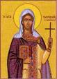 Κοίμηση της Αγίας Άννας Μητέρας της Υπεραγίας Θεοτόκου, Οσία Ολυμπιάδα η Διακόνισσα, Οσία Ευπραξία